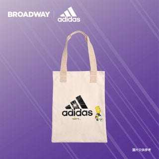 Adidas The Simpsons Tote Bag