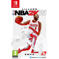 Switch - NBA 2K21 遊戲軟件