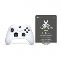 Xbox Game Pass Ultimate (3 month) and new Xbox Series wireless controller