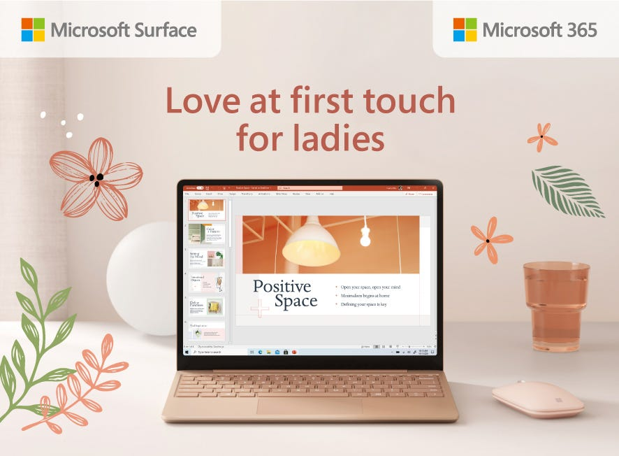 Microsoft Love at First Touch for Ladies